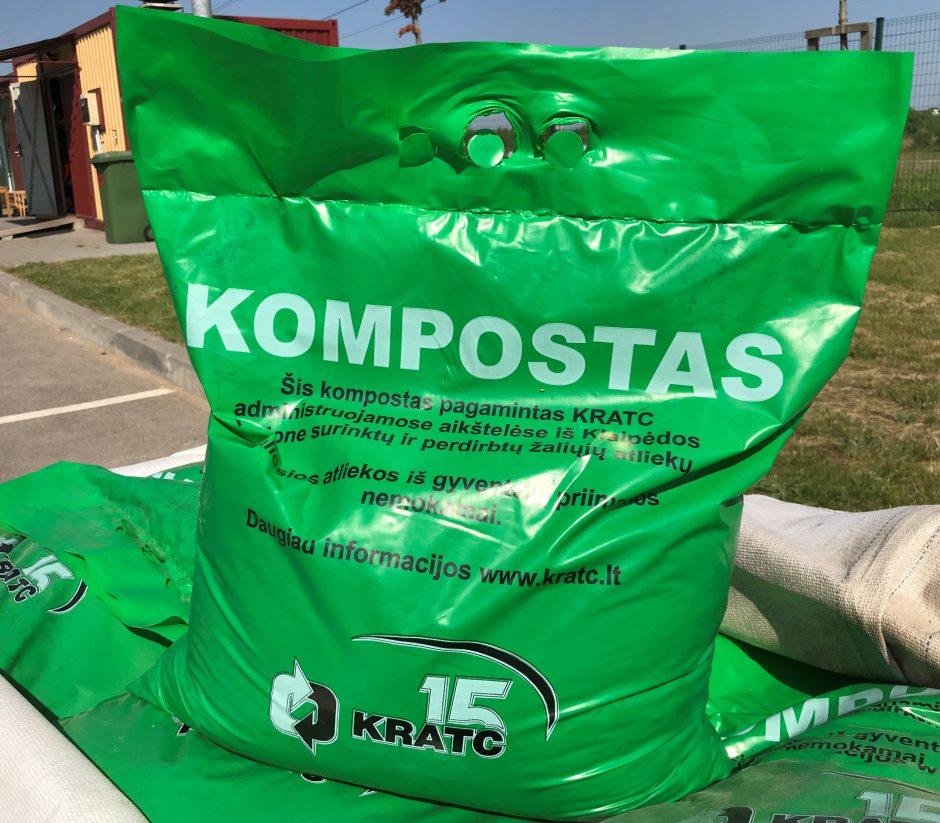 Už nereikalingus daiktus – kompostas