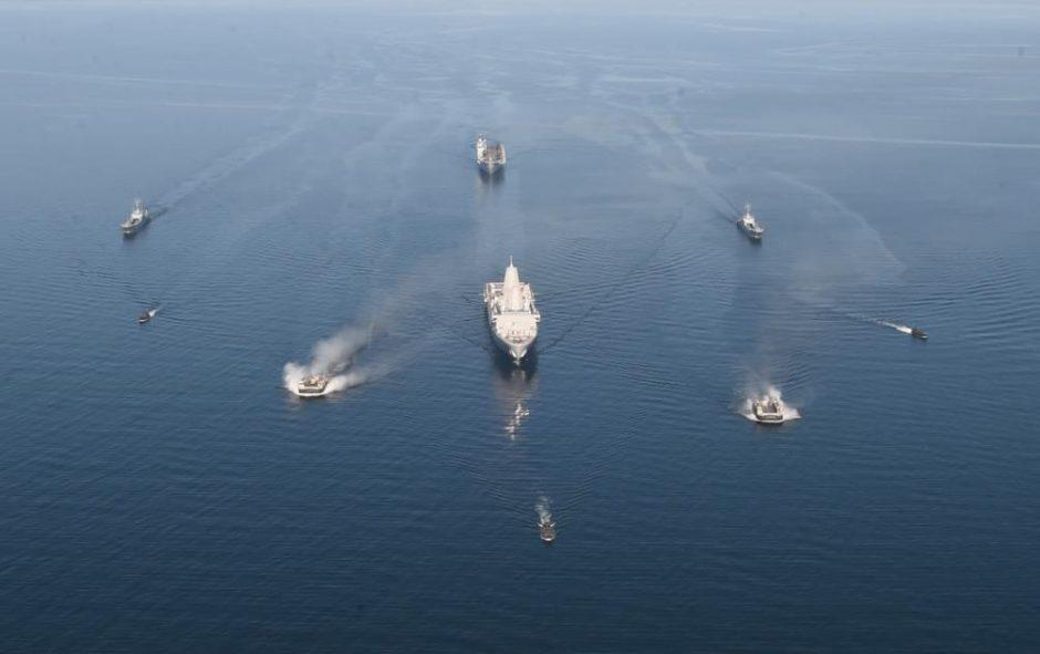 Klaipėdoje bus NATO karinių laivų antplūdis