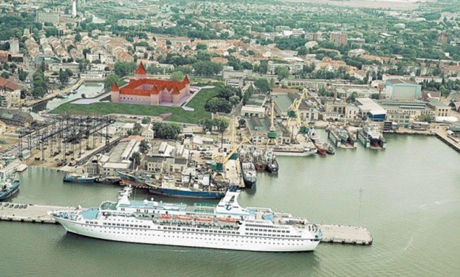 Klaipėdoje – virtuali ekskursija po atkurtą miesto pilį
