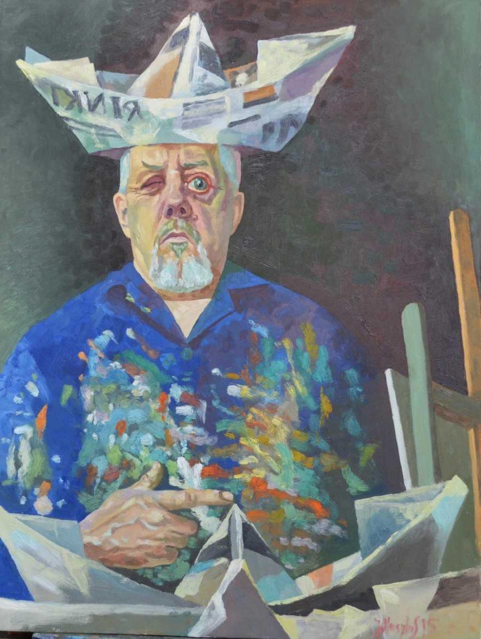Parodoje Juodkrantėje rengiamas susitikimas su tapytoju J. Vosyliumi