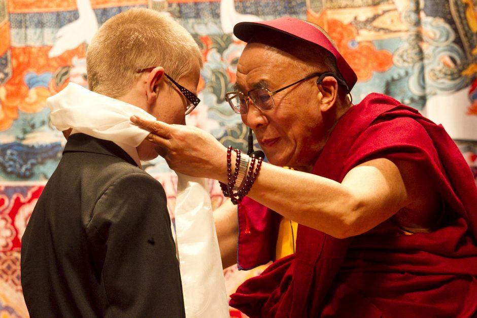 Dalai Lama  pareiškė matantis pagrindo optimizmui dėl Kinijos politikos