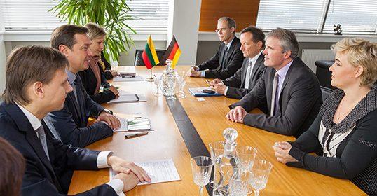 Vilniaus ir Erfurto merai dalijosi patirtimi