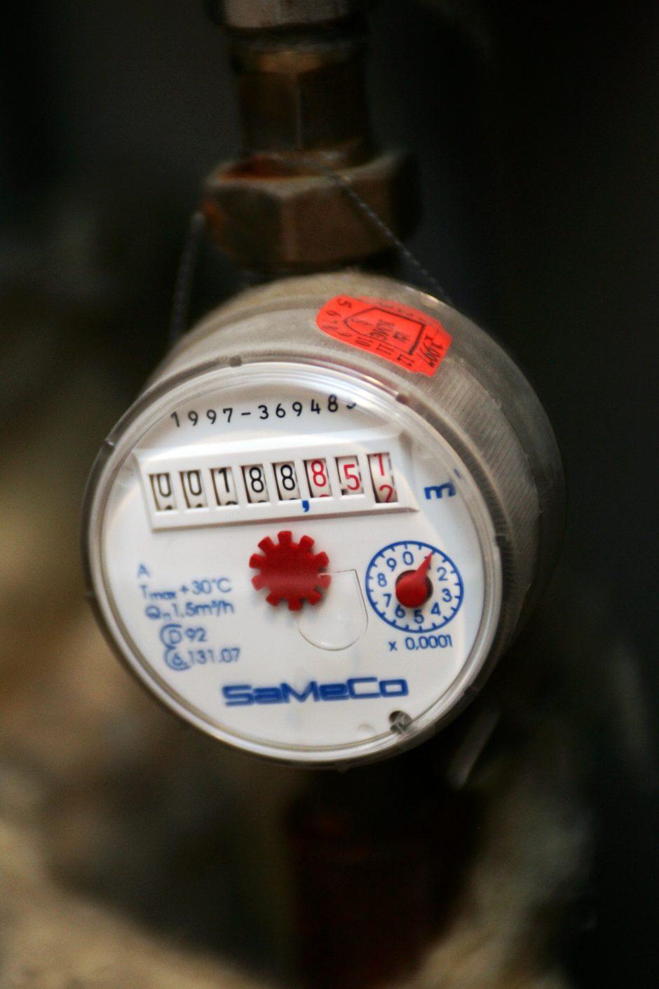 Vilniuje mažės karšto vandens skaitiklio aptarnavimo mokestis