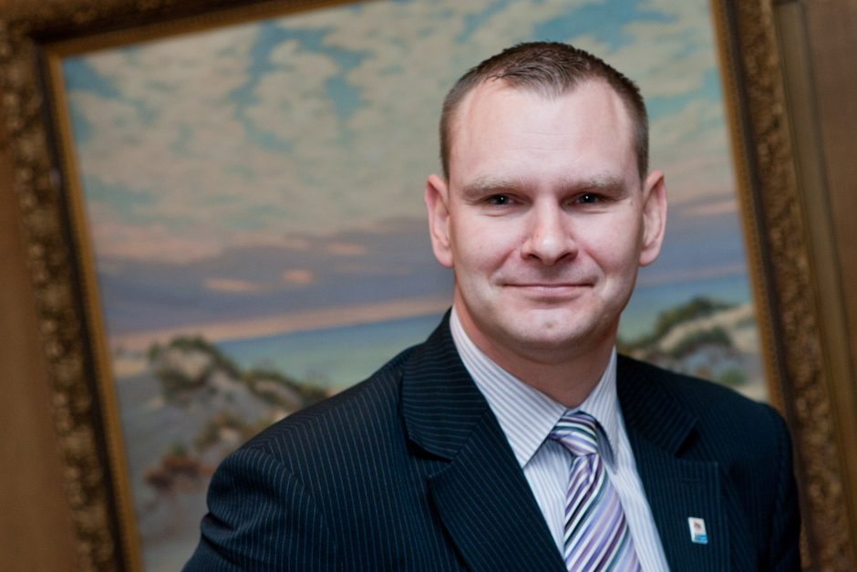 Plaukimo federacijos generalinis sekretorius M. Špokas: džiugu, kad bus statomas naujas baseinas