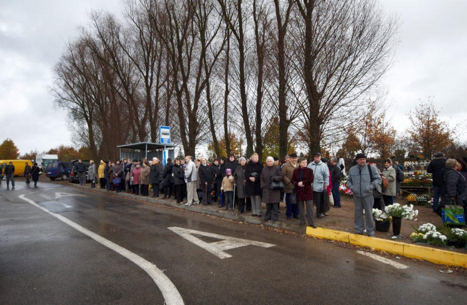 Per Vėlines Vilniuje keisis transporto judėjimas
