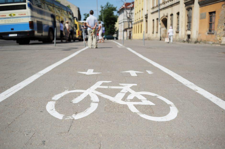Vilniečiai kviečiami pasirinkti dviračių takų plėtros planą