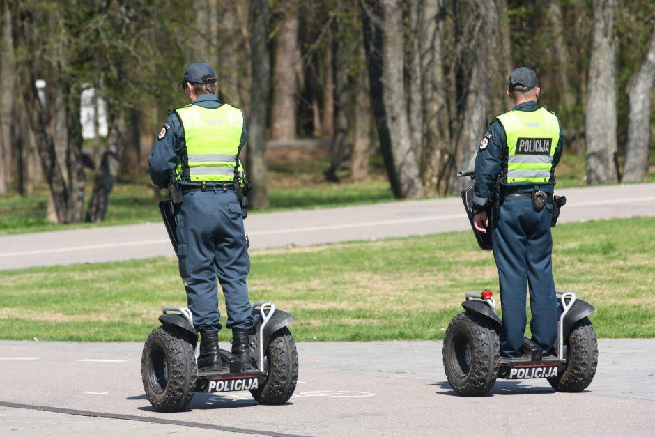 Vilniuje visą rugsėjį gatvėse budės vidutiniškai 44 patruliai