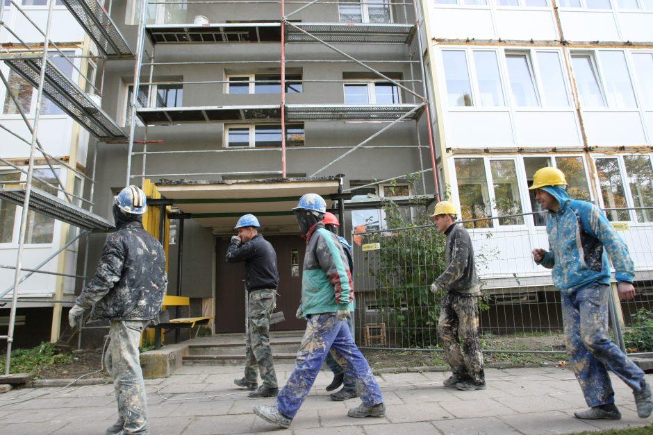 Ambicijos dėl daugiabučių renovacijos didelės, bet realybė gali būti niūresnė