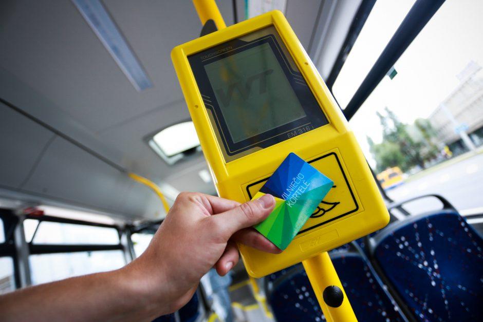 Viešojo transporto keleiviams - išsamus Vilniečio kortelės naudotojo gidas