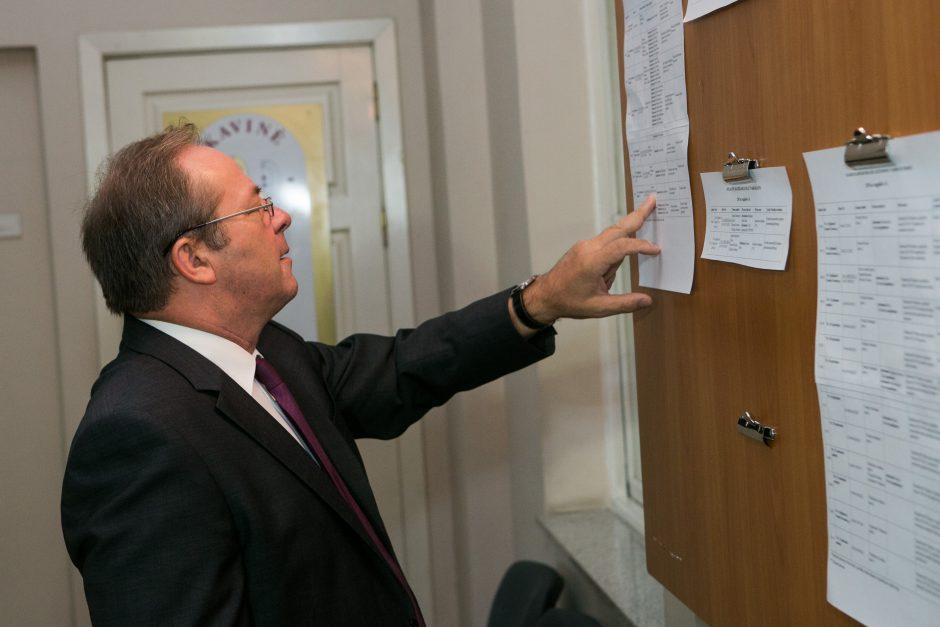 Teismui nepavyko tęsti liudytojų apklausos vicemero R. Adomavičiaus byloje