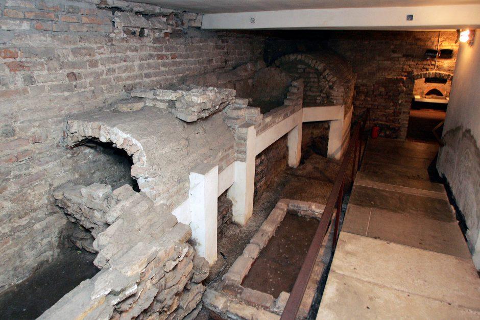 Naujovė: Vilniaus katedros požemiuose organizuojamos vakarinės ekskursijos