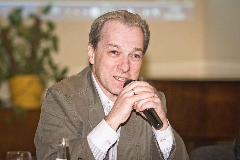 Žinomas televizijos žurnalistas V. Fliarkovskis lankysis Vilniuje