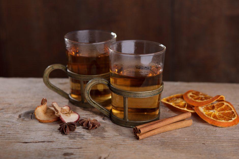 Orai Vilniuje šiandien nešildys, tad neprošal ir puodelis karštos arbatos
