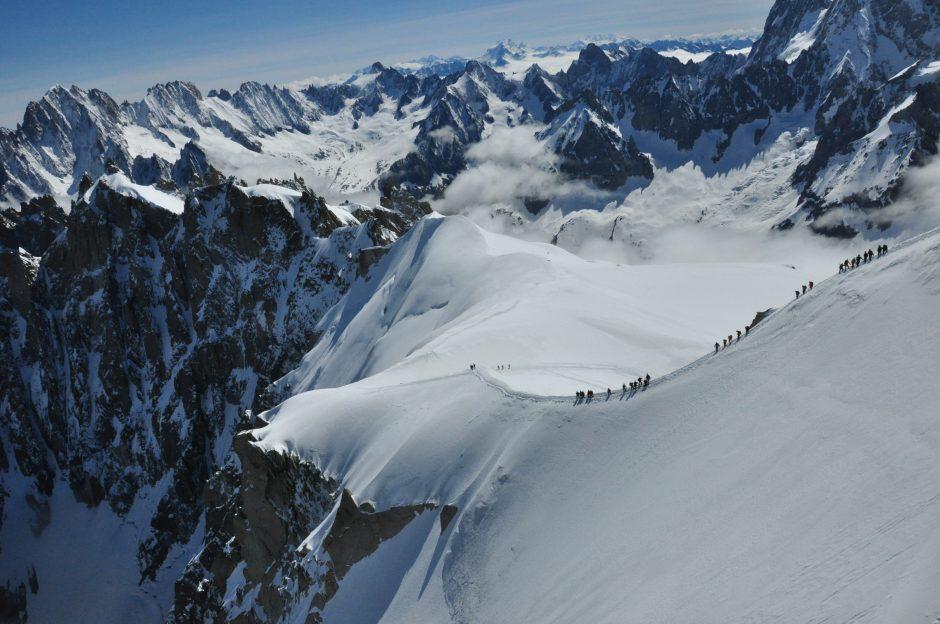 Alpių vaizdai svaigina labiau nei šampanas