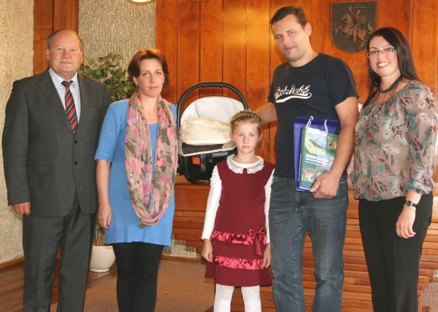 Kauno rajone užregistruotas 600-asis kūdikis