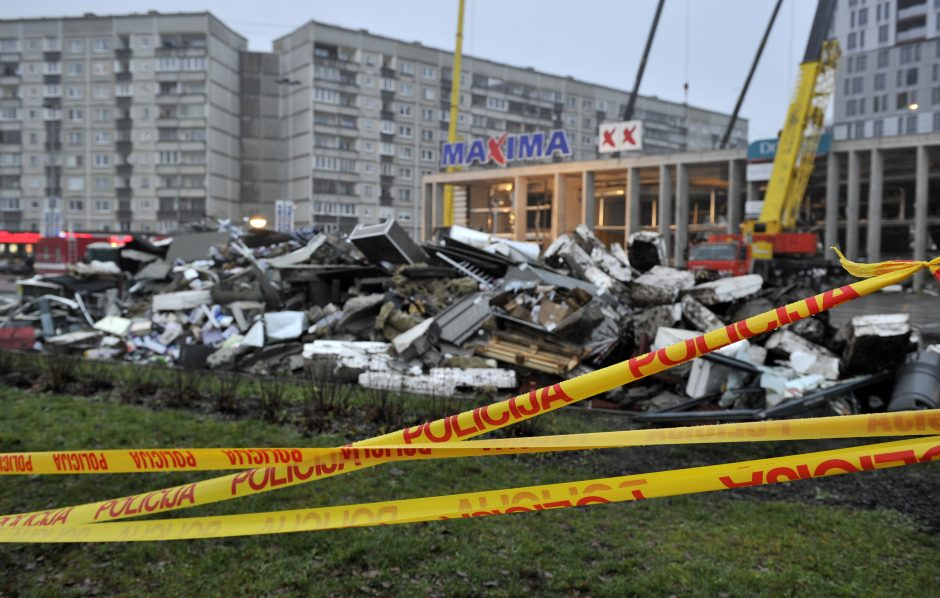 Tragedija Rygoje: sugriuvo