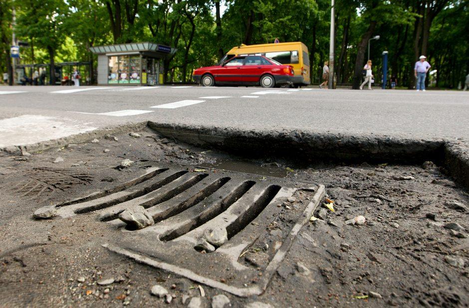 Už gatvių remonto broką – 100 litų baudos