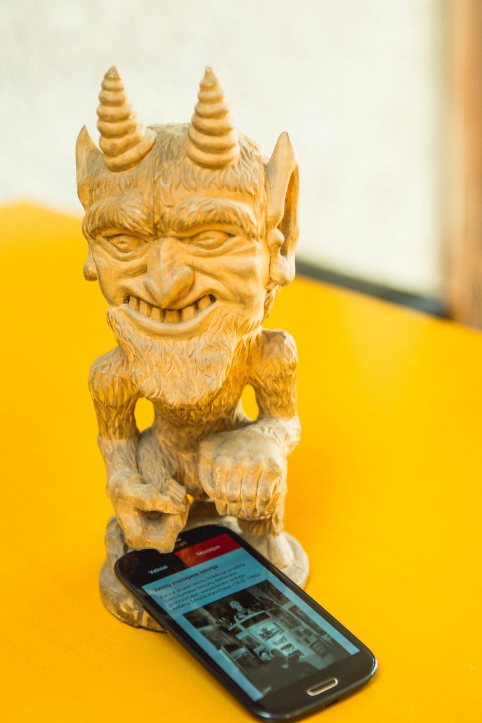 Velnių muziejus – ir išmaniajame telefone