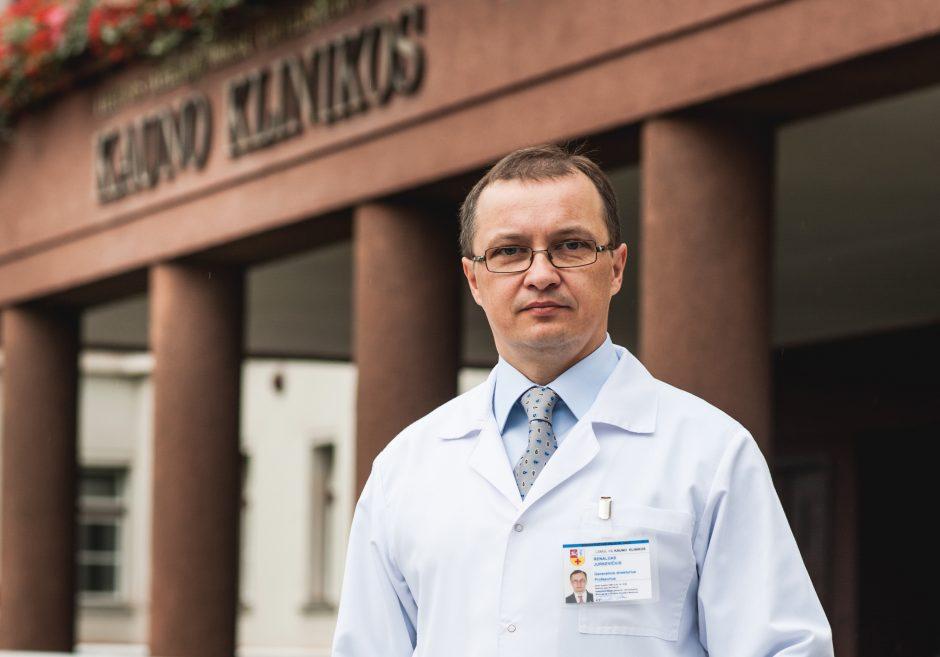 Naujasis Kauno klinikų vadovas: šį darbą suprantu kitaip