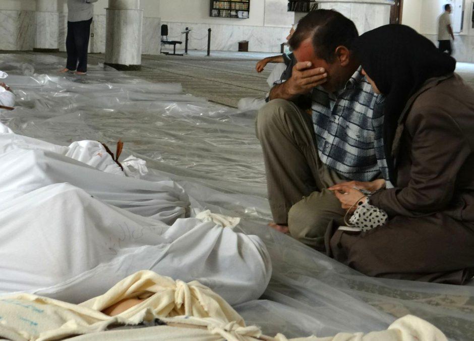 Barbariškas Arabų pavasaris: kas apnuodijo Sirijos gyventojus dujomis?