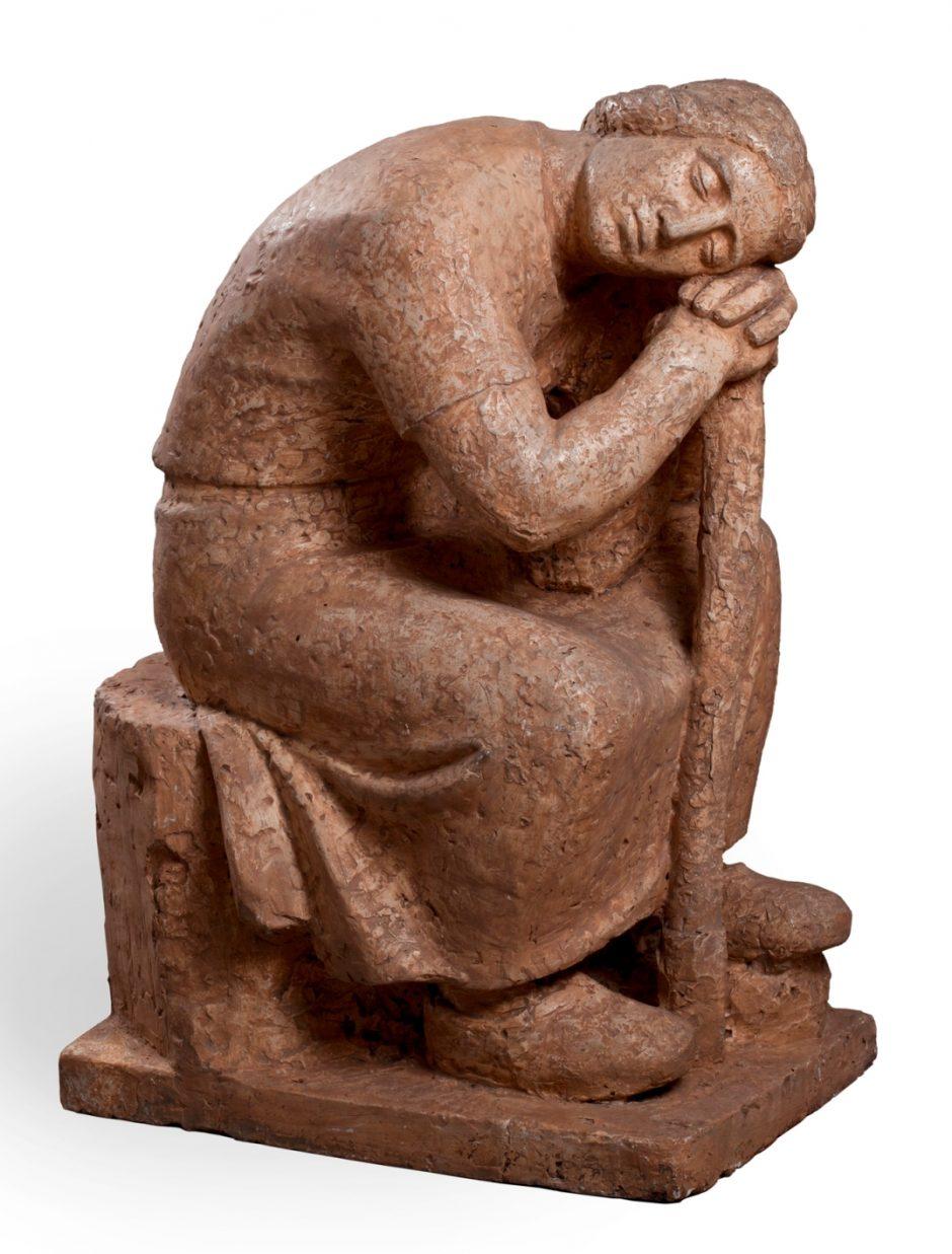Atidaroma skulptoriaus J. Kėdainio paroda
