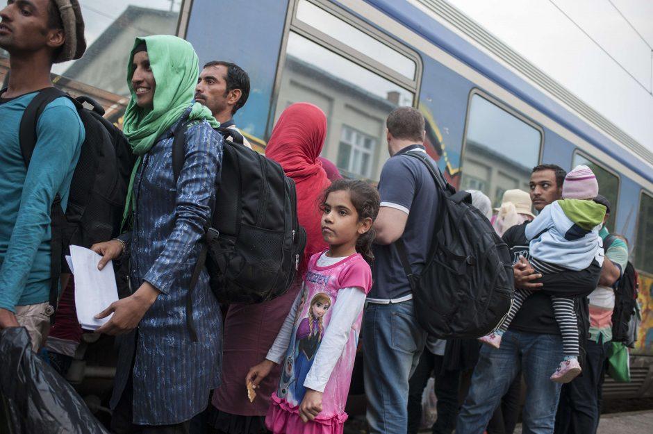 Prezidentė: pabėgėliai Lietuvai gali atnešti naudos