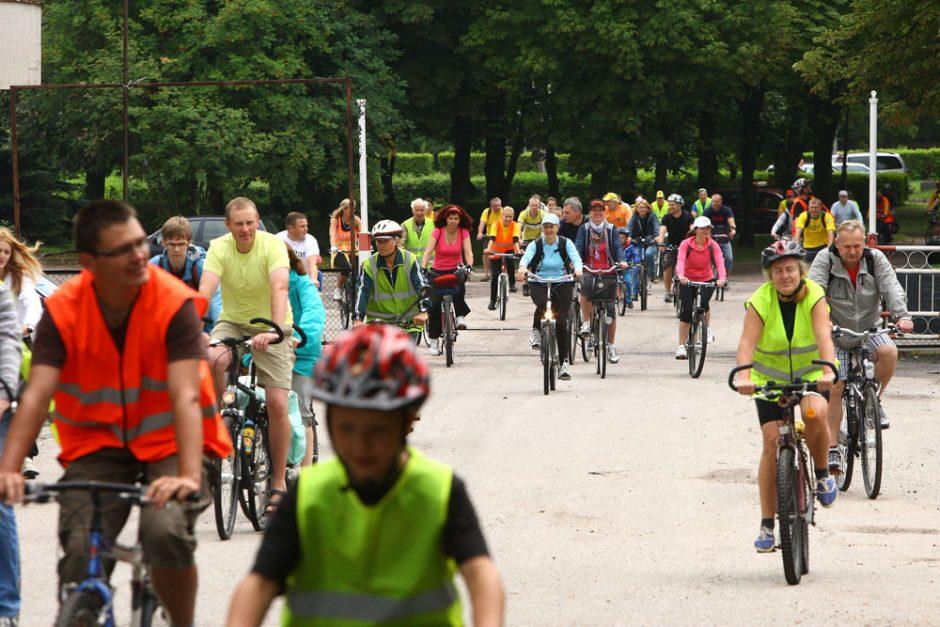 Aleksoto gatvėmis – dviračių žygis drąsių lakūnų garbei