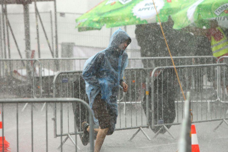 Lietus Kaune