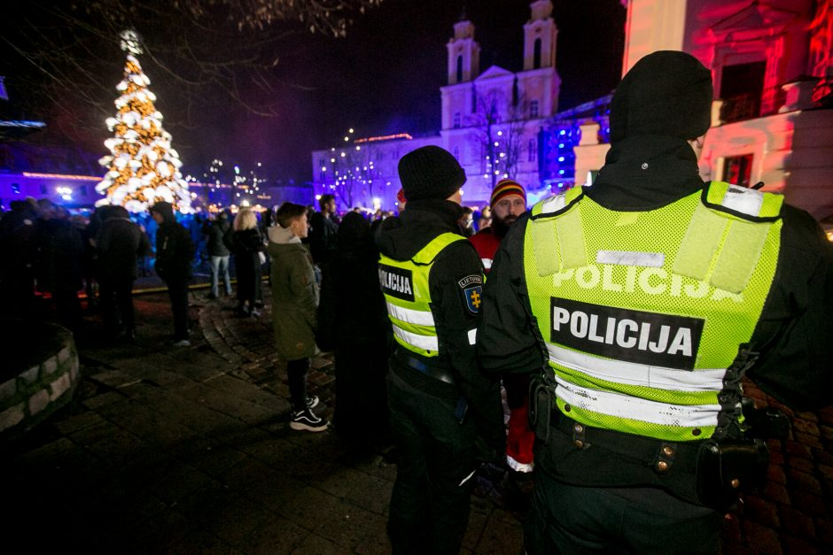 Kaunas sutinka 2019 metus