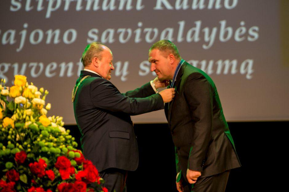 Kauno rajono savivaldybės apdovanojimai – dešimčiai nusipelniusių žmonių