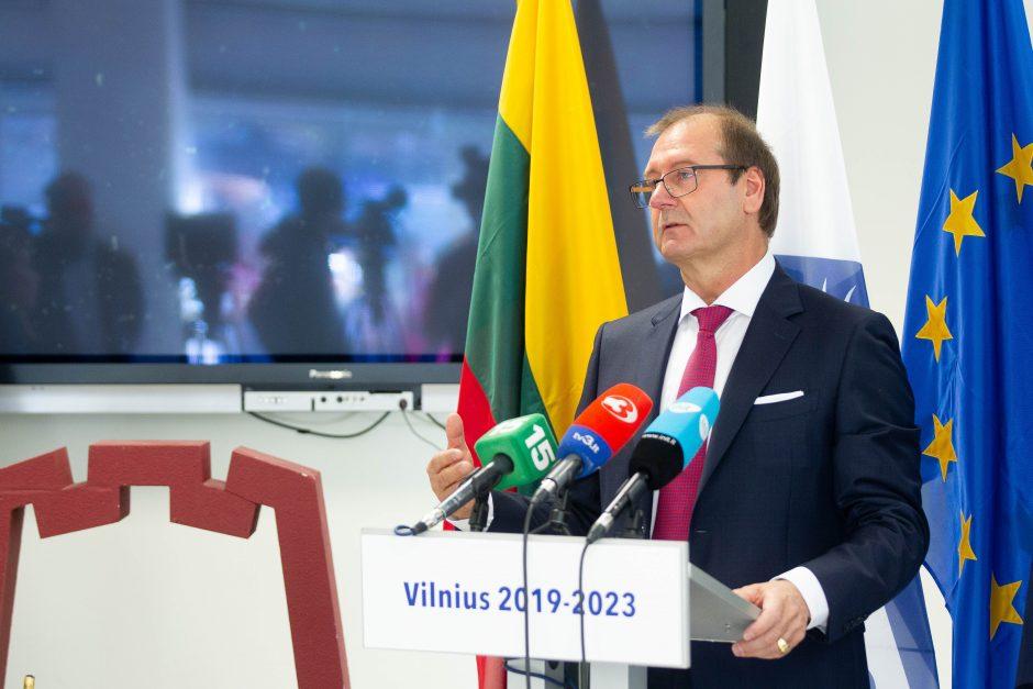 V. Uspaskichas Vilniui žada nemokamą viešąjį transportą