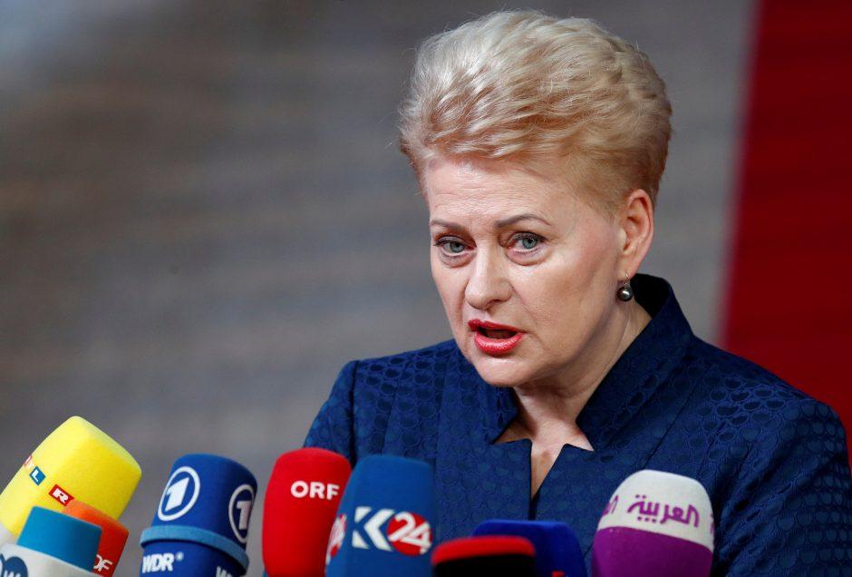 D. Grybauskaitė Kinijoje sieks atverti kelius Lietuvos verslui