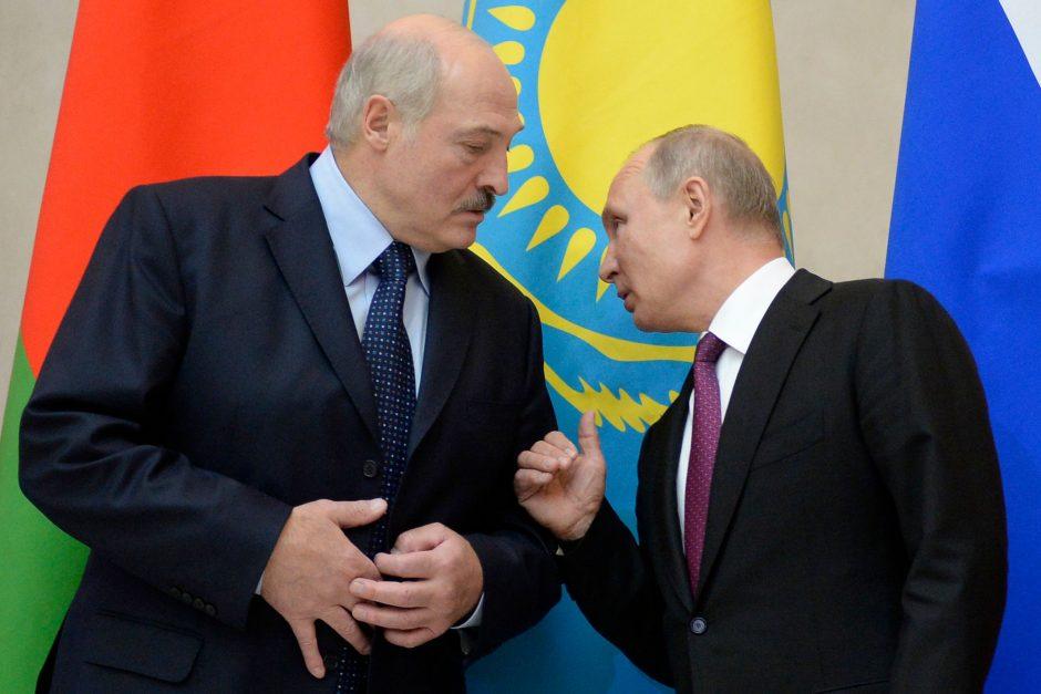 V. Putinas atmetė A. Lukašenkos reikalavimą dėl dujų kainos