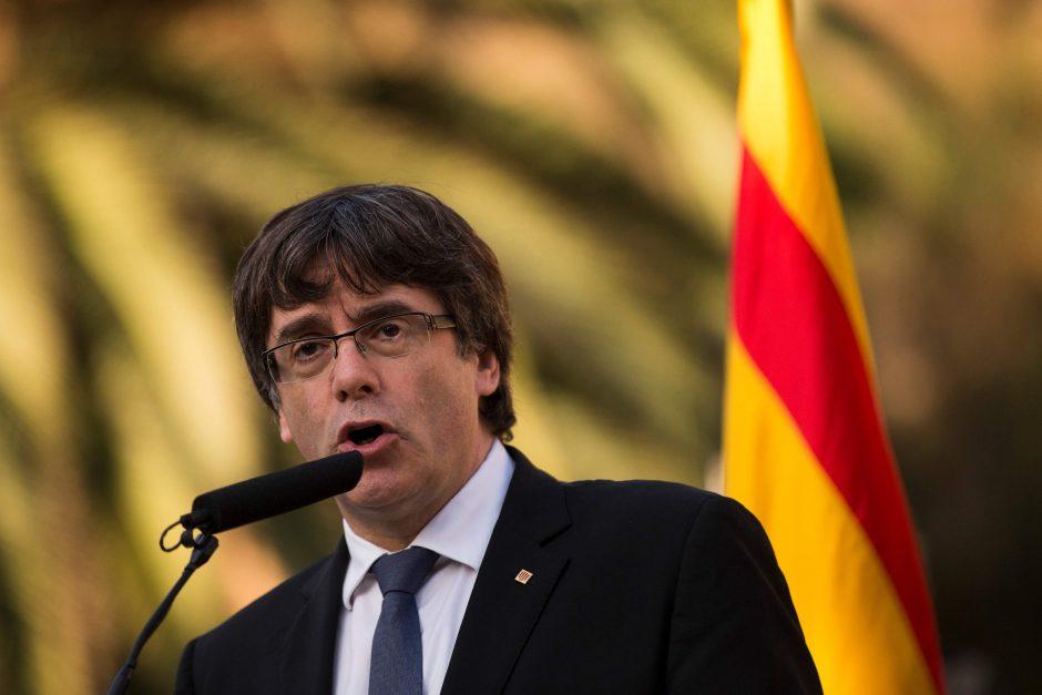 Katalonijos vadovo laiškas Madridui neišsklaidė miglos