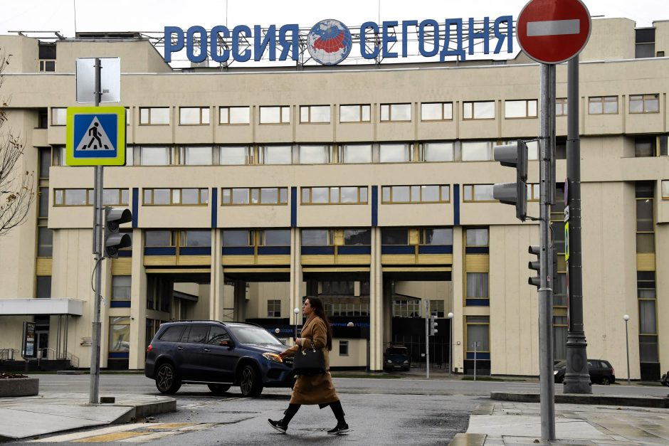 Rusija tarptautines žiniasklaidos priemones registruos kaip užsienio agentus?
