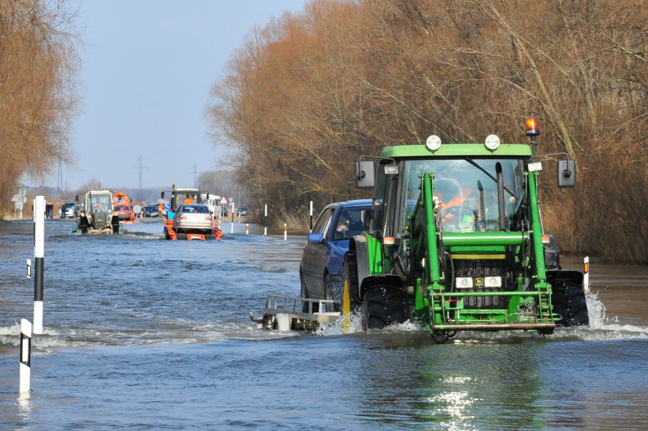 Bus rengiama nauja programa dėl potvynių pamaryje prevencijos ir padarinių šalinimo