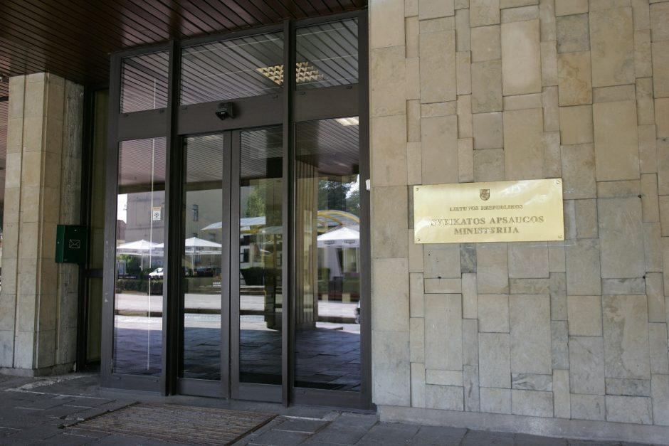 Etikos sargai siūlo pakeisti sveikatos viceministrės kuruojamą sritį