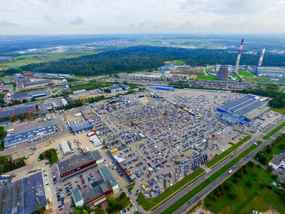 Paneigė nuogąstavimus: Kauno automobilių turgus niekur nedings