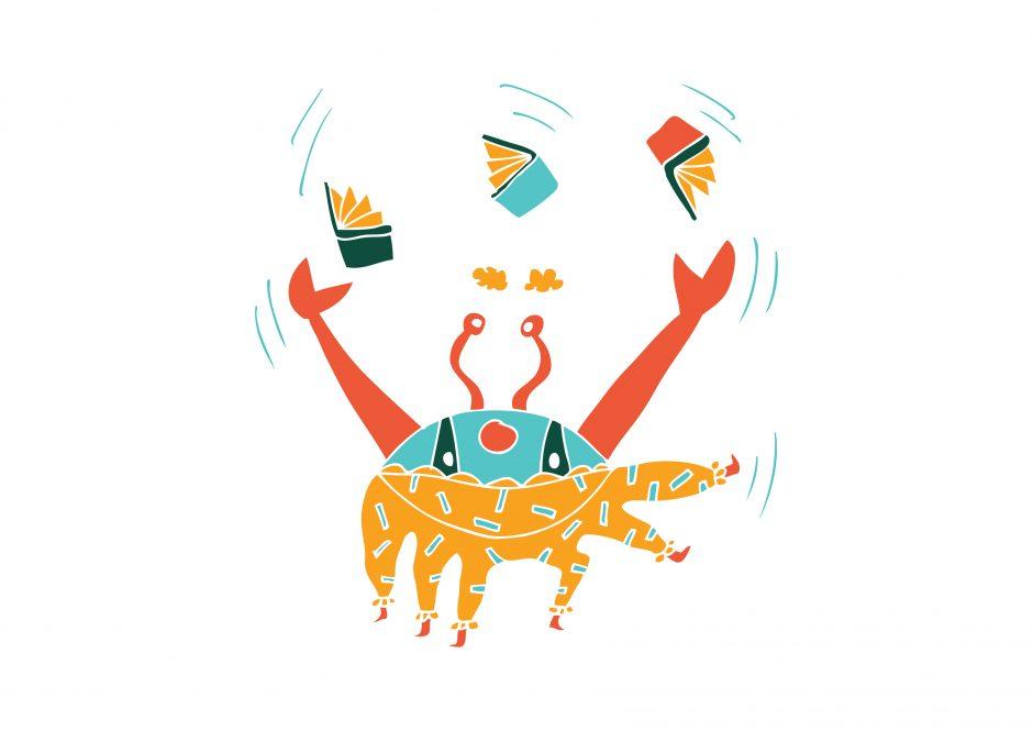 Festivalio personažą nupiešė pasaulyje pripažinta lietuvė iliustratorė