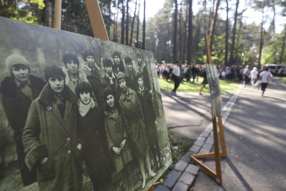 """Eisena """"Atminties keliu"""" Vilniuje"""
