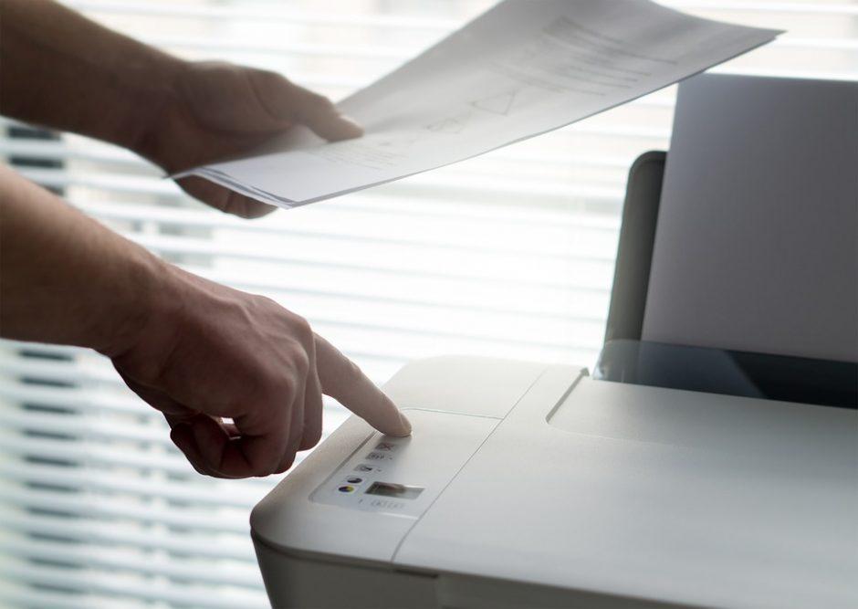 Valdžia apmokestino skaitytuvus ir spausdintuvus