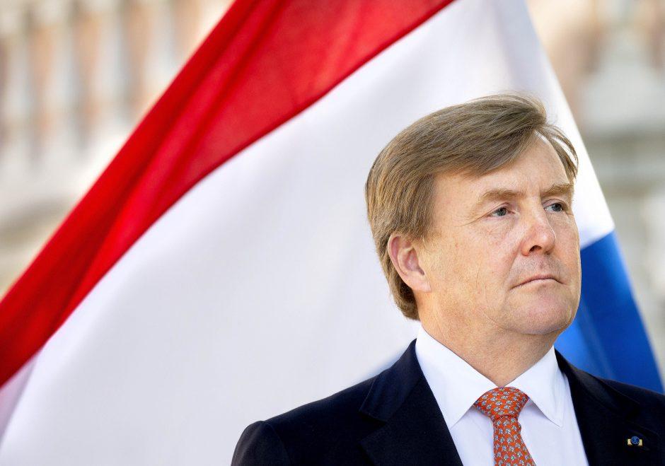 Lietuvoje lankosi Nyderlandų karalius