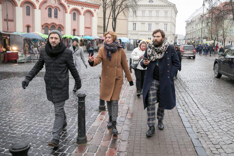 Mobilioji programėlė kviečia pasivaikščioti po J. Basanavičiaus Vilnių