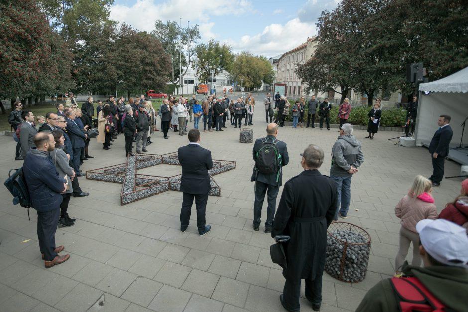 Vilniuje minimos geto sunaikinimo 75-osios metinės