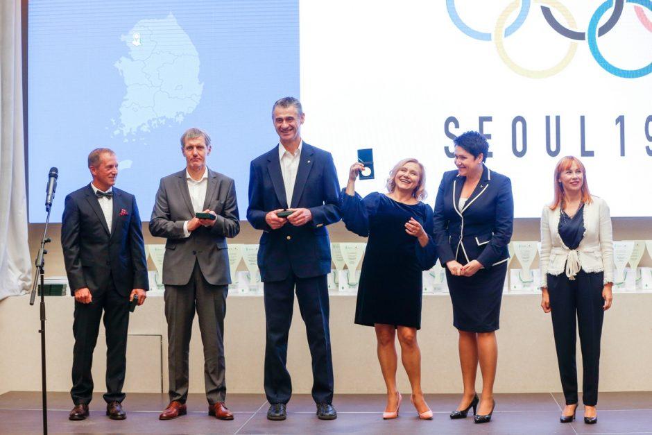 Pagerbti Seulo olimpinių žaidynių prizininkai