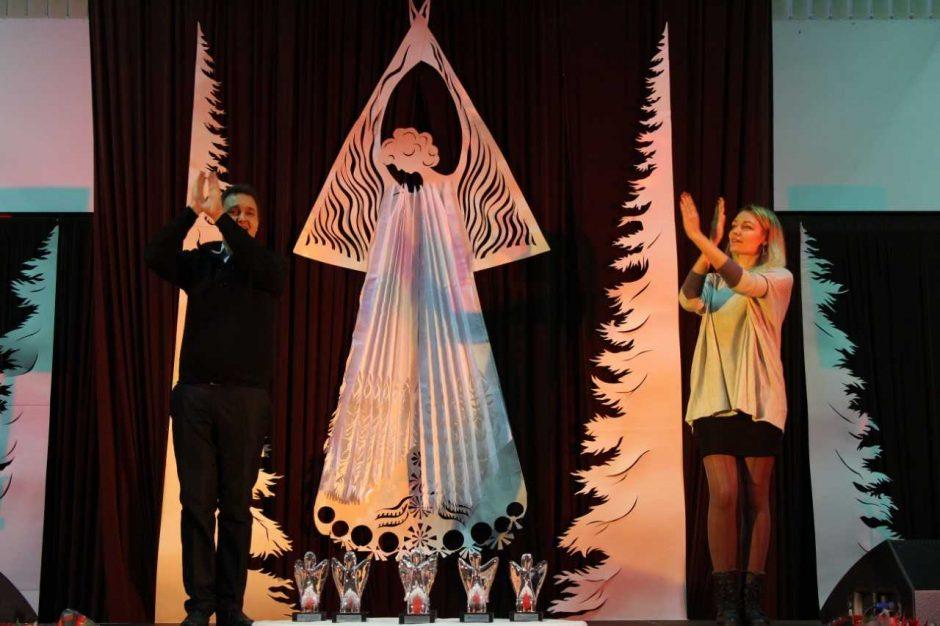 Neįgaliųjų veikla įvertinta simboliniais angelais