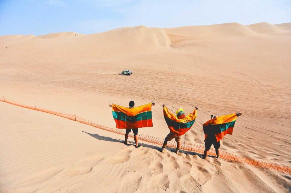 Temperatūra vargina ir automobilį: V. Žala trečiame Dakaro etape – 34-as
