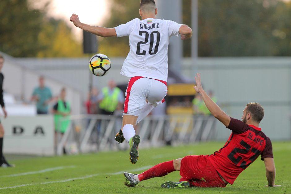 """Europos lygos atranka: """"Sūduva"""" – """"Spartaks"""" 0:0"""