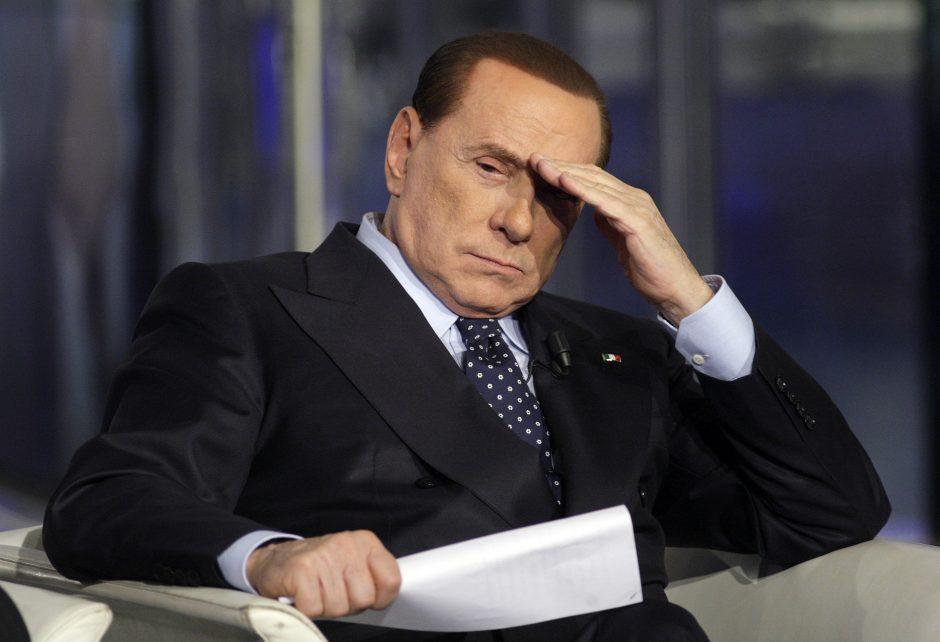 Italijos aukščiausios instancijos teismas patvirtino S. Berlusconi laisvės atėmimo bausmę