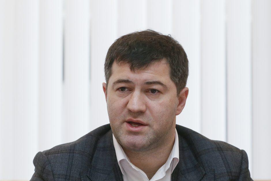 Ukrainoje sulaikyti du įtakingi Gynybos ministerijos pareigūnai